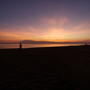 Early morning at Ngala beach in Malawi