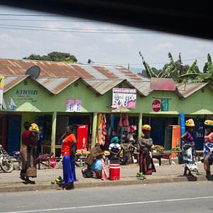 The fruit ladies of Kiwira Market in Tanzania