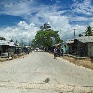 A village in Zanzibar West