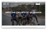 A screenshot of a story on Velokhaya Cycling Academy in Khayelitsha, Cape Town
