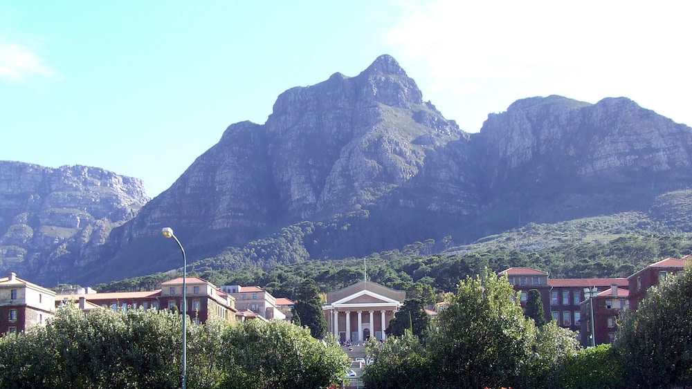 The University of Cape Town, where I graduated with a postgraduate degree.