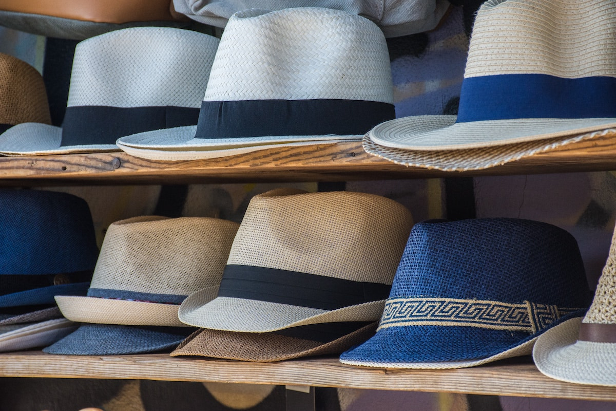 An image of hats in an article about top summer hats.