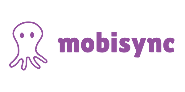 A logo for the mobisync script